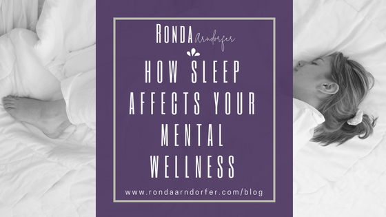 The Link Between Sleep and Mental Wellness
